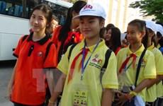Children exchanges promote Vietnam – Laos friendship