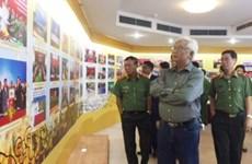 Exhibition features Vietnam-Laos-Cambodia cooperation in crime combat