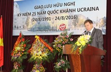 Ceremony marks Ukraine's National Day in Hanoi