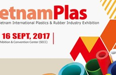Int'l plastic and rubber exhibition slated for Sept in HCM City