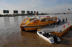 HCM City rolls out first river-bus service