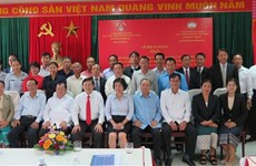 Training course for Lao front officials held in Da Nang