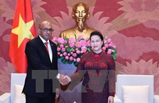 NA leader lauds ambassador's efforts to tighten Vietnam-Cuba links