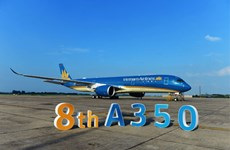Vietnam Airlines receives eighth Airbus A350