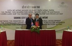 Vietnam, Australia to collaborate in agricultural research