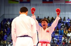 SEA Games 29: Karate, athletics add golds for Vietnam