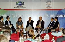 APEC encourages agricultural start-ups, innovation