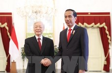 Party leader thanks Indonesian President