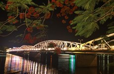 Hue's iconic bridge gets a makeover