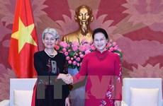 Top legislator welcomes UNESCO leader