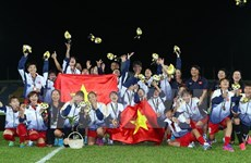 Vietnamese women triumph at SEA Games