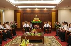 Hoa Binh intensifies cooperation with Laos's Luang Prabang
