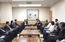 Japanese Communist Party leader welcomes CPV delegation