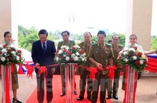 Photos feature cooperation between Vietnamese, Lao security sectors