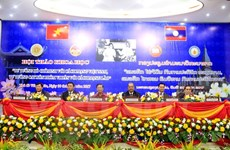 Workshop features late Vietnamese, Lao leaders' thoughts