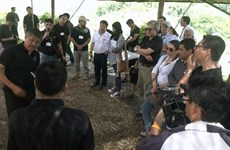 Colombian officials study Thailand's alternative crop project