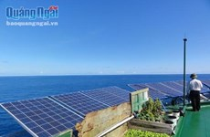 An Binh island enjoys solar power