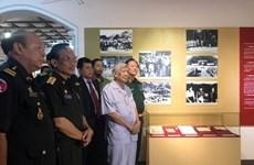 Exhibition features Vietnam-Laos-Cambodia solidarity