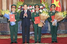 President grants promotion decisions to army officers