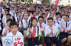 President congratulates students on new school year