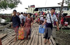 UN concerned about violence in western Myanmar
