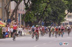 Filipino racer wins second stage of VTV cycling tourney