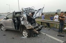 Traffic accidents claim 58 lives during holidays