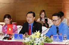 Vietnam, Laos youth unions intensify friendship, solidarity