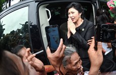 Thai police confirm former PM Yingluck had fled abroad