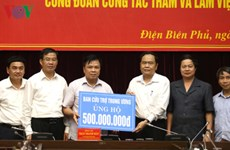 Vietnam Fatherland Front helps Dien Bien ease flood impacts