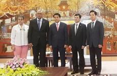 Hanoi leader welcomes leaving Cuban Ambassador