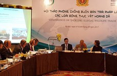 Vietnam, UK experts talk to fight wildlife trafficking