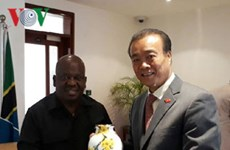 Vietnam wants to further develop ties with Tanzania's NA