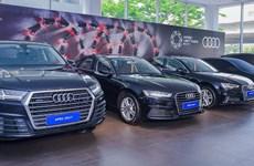 Second batch of Audi cars delivered to serve APEC