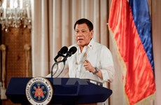Philippine President says never negotiate with Maute terrorists