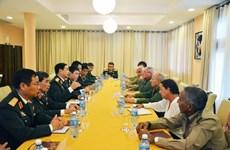 Defence delegation visits Cuba