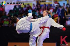 Vietnamese athlete wins gold at world karate league