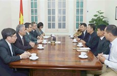 Vietnam, Cambodia news agencies urged to promote cooperation