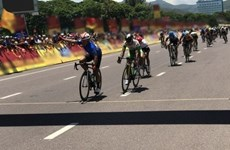 Vietnamese cyclist wins ninth stage of Ton Hoa Sen Cup