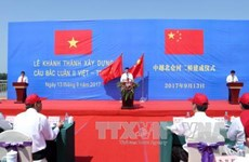 Vietnam-China Bac Luan Bridge II inaugurated in Quang Ninh