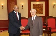 Cuban ambassador honoured with friendship insignia
