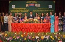 VWU Chairwoman meets Cambodian leader