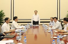 President urges thorough preparations for APEC Economic Leaders' Week