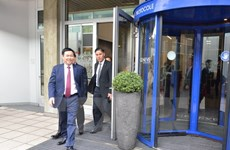 Deputy PM meets leaders of int'l organisations in Geneva