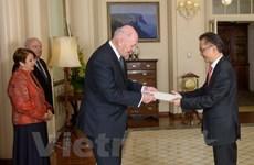 Vietnamese Ambassador to Australia presents credentials