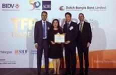 ADB again names BIDV as Vietnam's leading partner bank