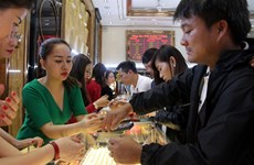 Vietnamese gold trading market slows to crawl