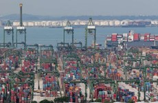 Singapore's non-oil exports surge 17 percent in August