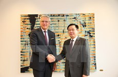 Belgium leaders treasure ties with Vietnam