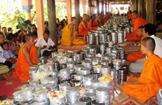 Khmer people's traditional festival observed in An Giang
